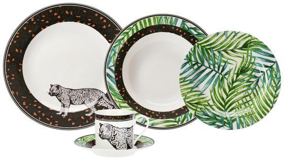 Kombiservice Jungle - Multicolor, MODERN, Keramik - Luca Bessoni