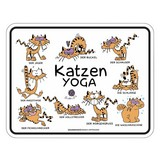 Dekoschild Blechschild Katzen Yoga - Multicolor, Basics, Metall (17/22cm)