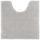Wc Předložka Nelly -top- - barvy stříbra, textil (50/50cm) - Mömax modern living