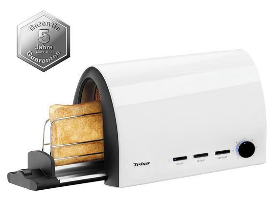 Toaster Toast & Slide - Schwarz/Weiß, MODERN, Kunststoff (34,5/14,5/20cm)