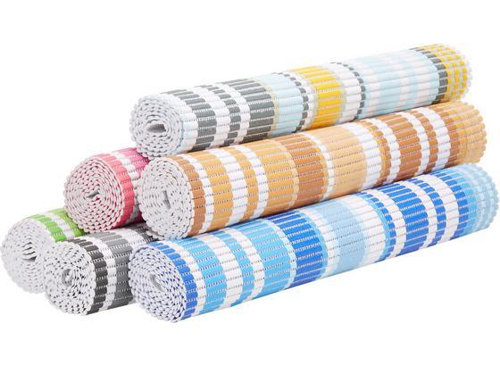 Protisklzová Podložka Stripe - hnedá/modrá, textil (65/180cm) - Mömax modern living
