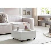 Couchtisch L: ca. 60 cm Weiß - Weiß, MODERN, Holzwerkstoff/Kunststoff (60/60/30cm) - MID.YOU