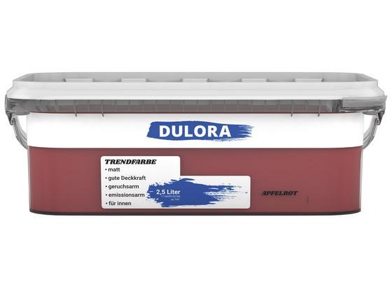 Wandfarbe 2,5 Liter Apfelrot - Rot (2,5l) - Dulora