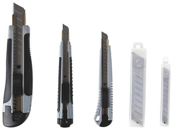 Cutterset 23 teilig - KONVENTIONELL, Kunststoff/Metall