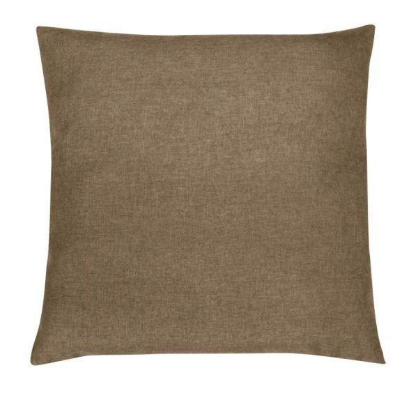 Díszpárna Anna - szürkésbarna, konvencionális, textil (40/40cm) - OMBRA