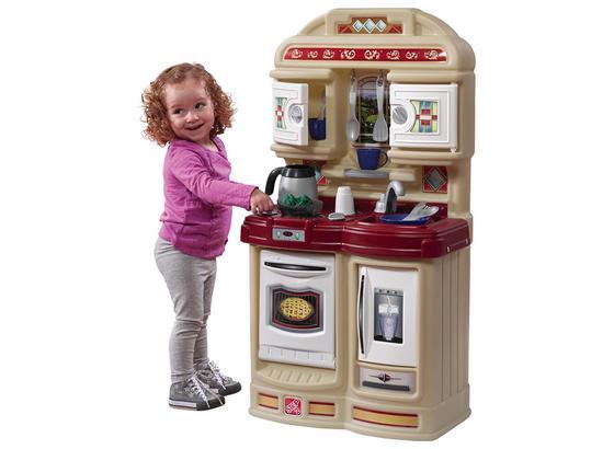 Kinderküche Step2 Cozy Kitchen - Beige/Rot, MODERN, Kunststoff (51/96,5/28cm)