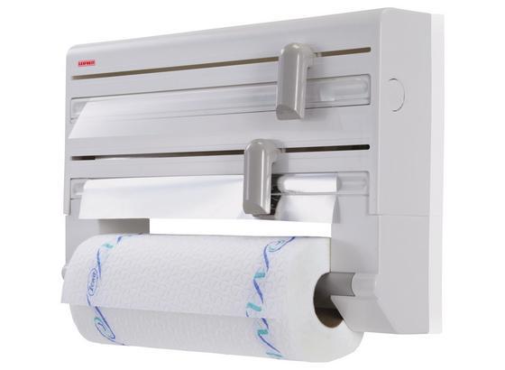 Küchenrollenhalter Leifheit - Weiß, KONVENTIONELL, Kunststoff (42/10/27cm) - Leifheit