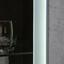 Wohnkombination Toronto 4 - Hellgrau/Alufarben, MODERN, Glas/Holzwerkstoff (348/196/45cm) - Ombra