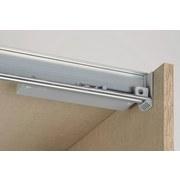Türdämpfer für Schwebetürenschränke - Grau, Kunststoff (9cm)