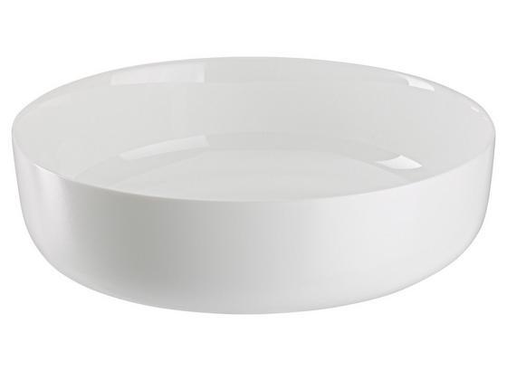 Forma Na Nákyp Zeraphine - biela, Moderný, sklo (26/6,8cm) - Premium Living