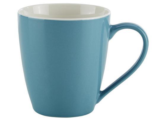 Hrnček Na Kávu Sandy - modrá, Konvenčný, keramika (8,9/10cm) - Mömax modern living