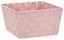 Aufbewahrungskörbchen Gerta - Beere/Creme, KONVENTIONELL, Kunststoff (25/25/14cm) - Ombra