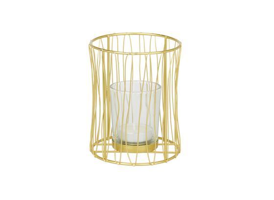Držák Na Čajovou Svíčku Macius - barvy zlata, Design, kov (9,5/12cm)