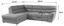 Sarokgarnitúra Victory - Bézs, konvencionális, Textil (217/264cm)