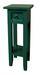 Beistelltisch Mahagoni Grün lackiert - Grün, MODERN, Holz (25/67/25cm)