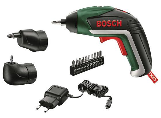 Bosch Akkuschrauber IXO 3,6V 1,5Ah - Grün, MODERN, Kunststoff/Metall (24,1/16,5/12,8cm) - Bosch