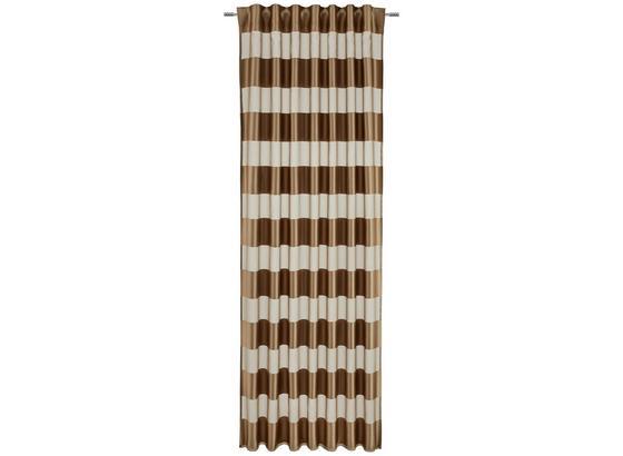 Záves Sonja - hnedá, Konvenčný, textil (140/245cm) - Mömax modern living