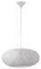 Hängeleuchte Campilo - Weiß, MODERN, Kunststoff/Textil (45/110cm)