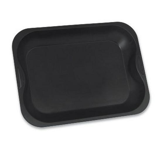 Sütőforma Tapadásmentes Bevonattal - fekete, konvencionális, fém (40/30/8,5cm)