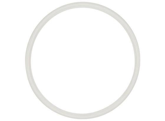 Dichtungsring Frieda - Weiß, KONVENTIONELL, Kunststoff (25cm) - James Wood