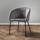 Stolička Vani - čierna/sivá, Moderný, kov/textil (61/81/51cm) - Modern Living