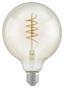 LED-Leuchtmittel Filament Spiral,e27,4w - Klar, MODERN, Glas (17cm)