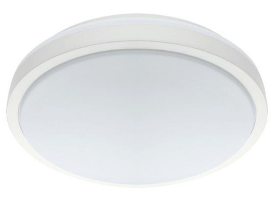LED-Deckenleuchte Competa 1 - Weiß, MODERN, Kunststoff/Metall (43/5,5cm)