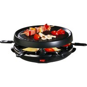 Raclette-Grill 66 - Schwarz, KONVENTIONELL, Kunststoff/Metall (36,5/13/32,5cm) - Silva Homeline