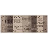 Läufer Coffee - Beige/Braun, Basics, Textil (80/200cm) - Ombra