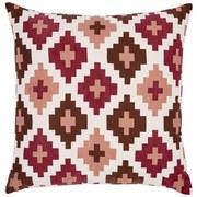 Zierkissen Easy Ethno - Rot/Braun, ROMANTIK / LANDHAUS, Textil (50/50cm) - James Wood