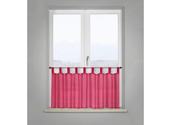 Záclona Krátká Hanna In Jade, Ca. 145x50cm - růžová, umělá hmota (145/50cm) - Mömax modern living
