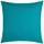 Dekoračný Vankúš Zippmex -based- -top- - tyrkysová, textil (50/50cm) - Based