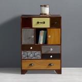 Komoda Heather - Multicolor, Moderní, kov/dřevo (65/92/38cm) - Mömax modern living