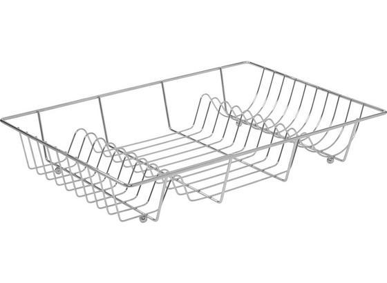 Odkvapkávač Na Riad 'fabi' - chrómová, Konvenčný, kov (48/9/32,5cm) - Mömax modern living