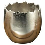 Übertopf Ø 13 cm - Silberfarben, MODERN, Metall