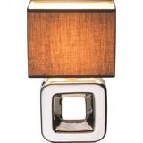 Tischleuchte H:32 cm - KONVENTIONELL, Keramik/Textil (20/12/32cm)