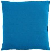 Zierkissen Verena - Blau, KONVENTIONELL, Textil (38/38cm) - Ombra