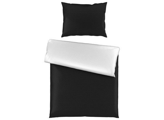 Povlečení Marie Wende - bílá/černá, Romantický / Rustikální, textil (140/200cm) - Premium Living