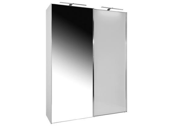 Skriňa S Posuvnými Dvermi Sonate 200x240cm - biela, Moderný, drevo (200/240/68cm) - Luca Bessoni