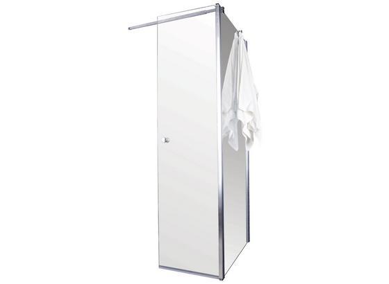Glas Flügeltür mit Seitenwand Sanoflex Grande 51,4cm/ 137cm - MODERN, Glas (137/195cm)