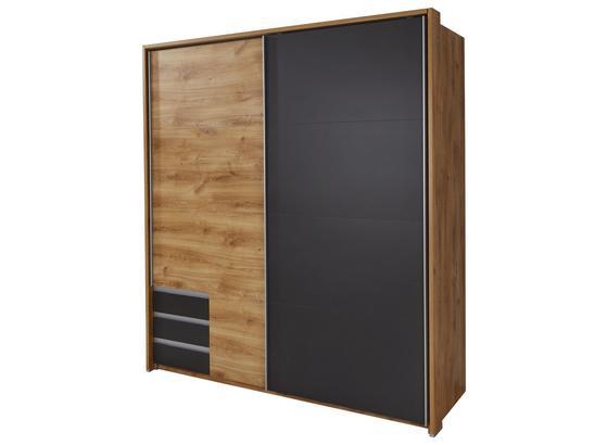 Paspartový Rám Emden - barvy dubu, Moderní, kompozitní dřevo (185/202/12cm)