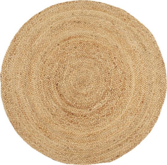 Handwebteppich Carmen Ø 120 cm - Beige, KONVENTIONELL, Textil (120cm) - James Wood