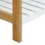 Regál Na Topánky Mirella - biela/farby buku, Moderný, drevo (70/36/26cm) - Modern Living