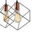 Závesná Lampa Amana - čierna, Štýlový, kov (48/147,5cm) - Premium Living