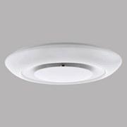 LED-Deckenleuchte Batida - Weiß, MODERN, Metall (49/9,5cm)