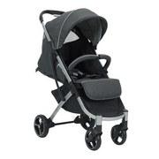 Buggy X-Easy-Fold Melange/ Anthrazit für Kinder Bis 15kg - Anthrazit/Silberfarben, Basics, Textil/Metall (51/103/62cm) - Knorr