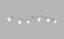 Spotleuchte Eva - Opal/Nickelfarben, MODERN, Glas/Metall (145/17,5cm)