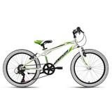 Kinderfahrrad Kinderrad 20'' Scrawler 154K - Weiß, Basics, Metall (180/70/80cm)