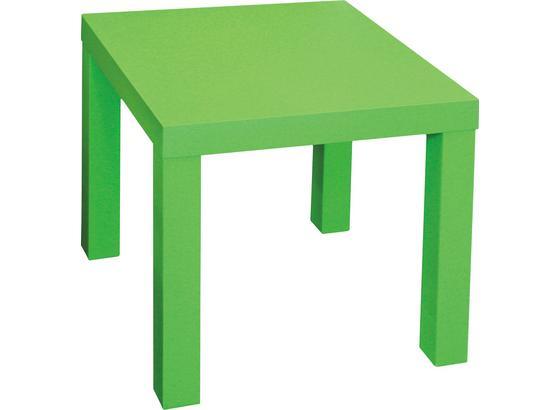 Kisasztal Normen - Zöld, modern, Faalapú anyag (39/40/39cm)