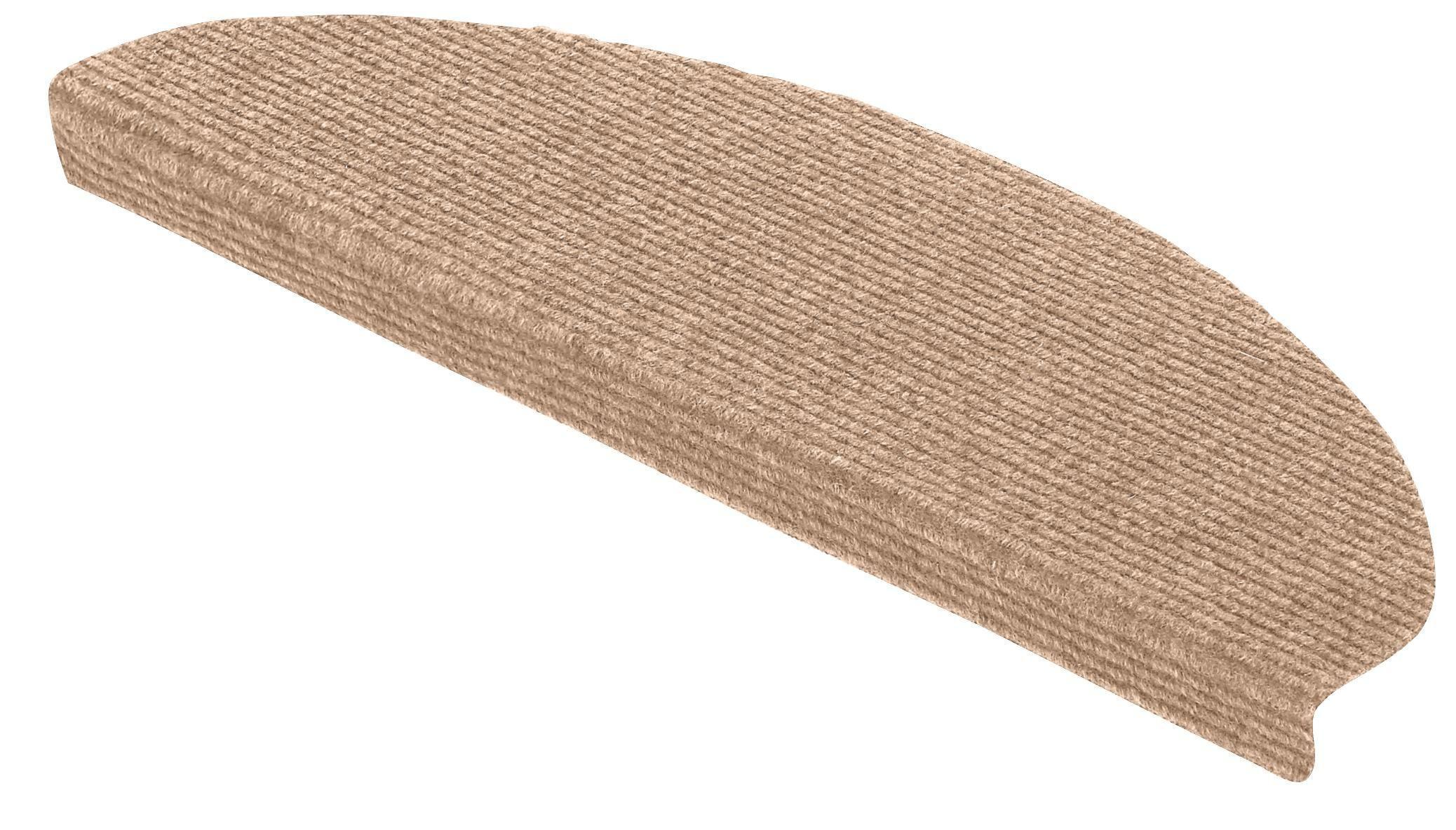 """Lépcsőszőnyeg """"tm Ript90 Modistep"""" Ütös Ár - barna, konvencionális, textil (65/25cm)"""